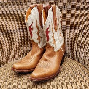 Frye cowboy boots size 8.5